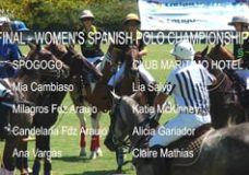 Final of the Polo Womens Spanish Championship
